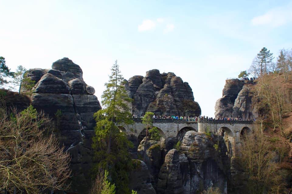 Bastei in Saxony Switzerland