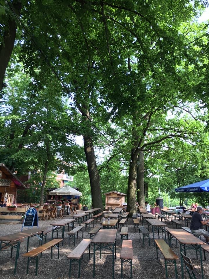 Loretta beer garden