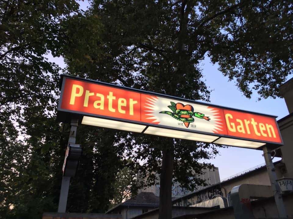 Prater beergarden in Berlin