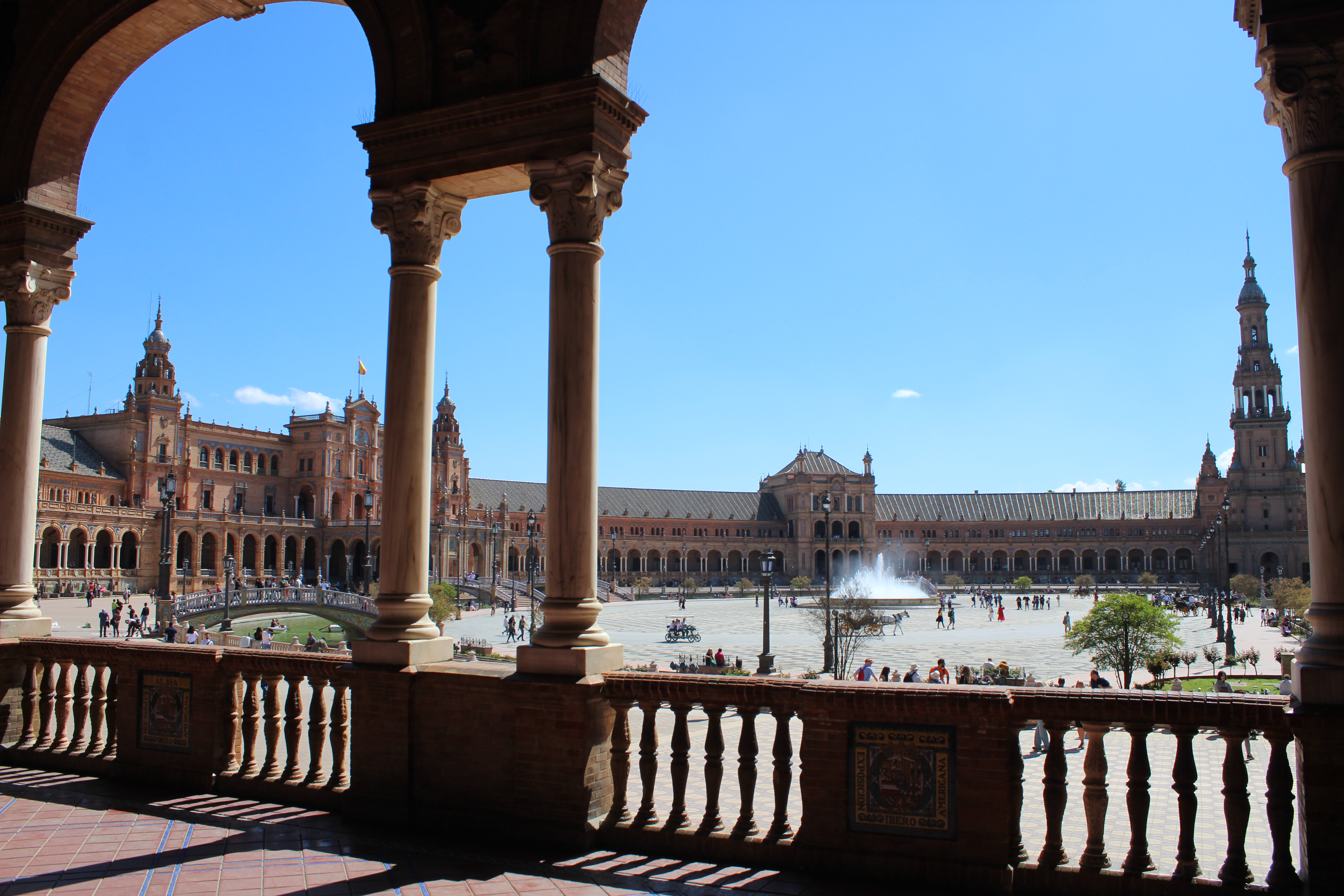 Plaza Espana in Sevilla