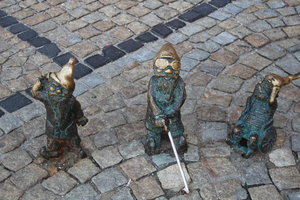 dwarfs in Wroclaw