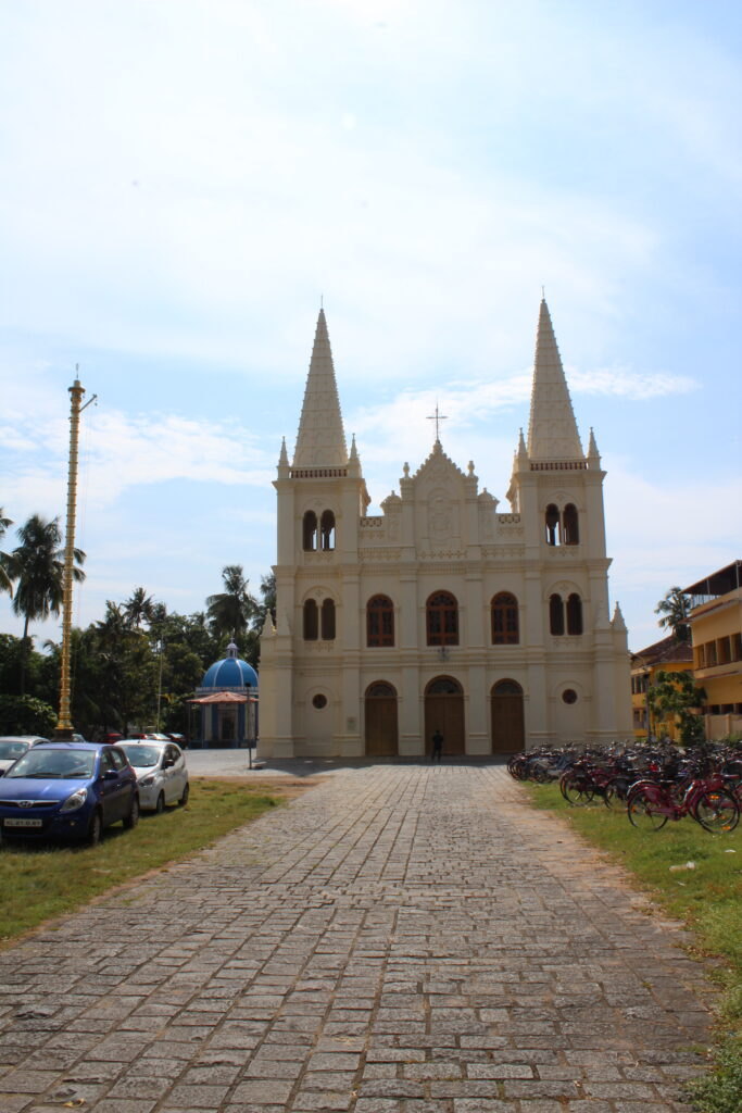 Cathedral in Fort Kochi