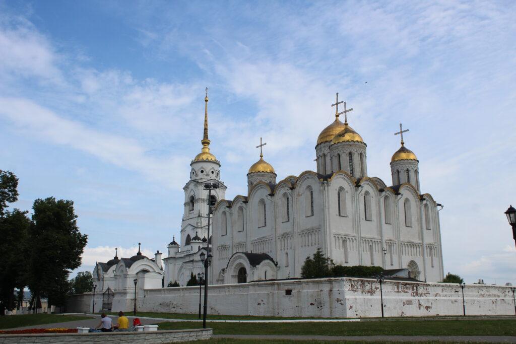white church in Vladimir