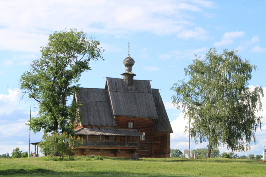 wooden church in Suzdal