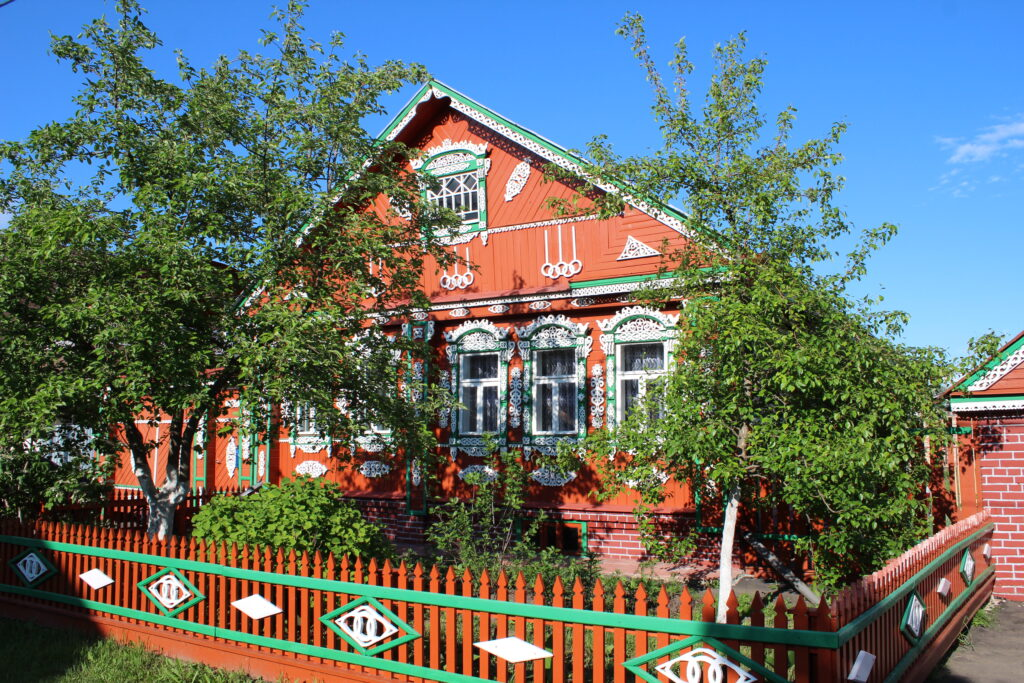 traditional house in Suzdal