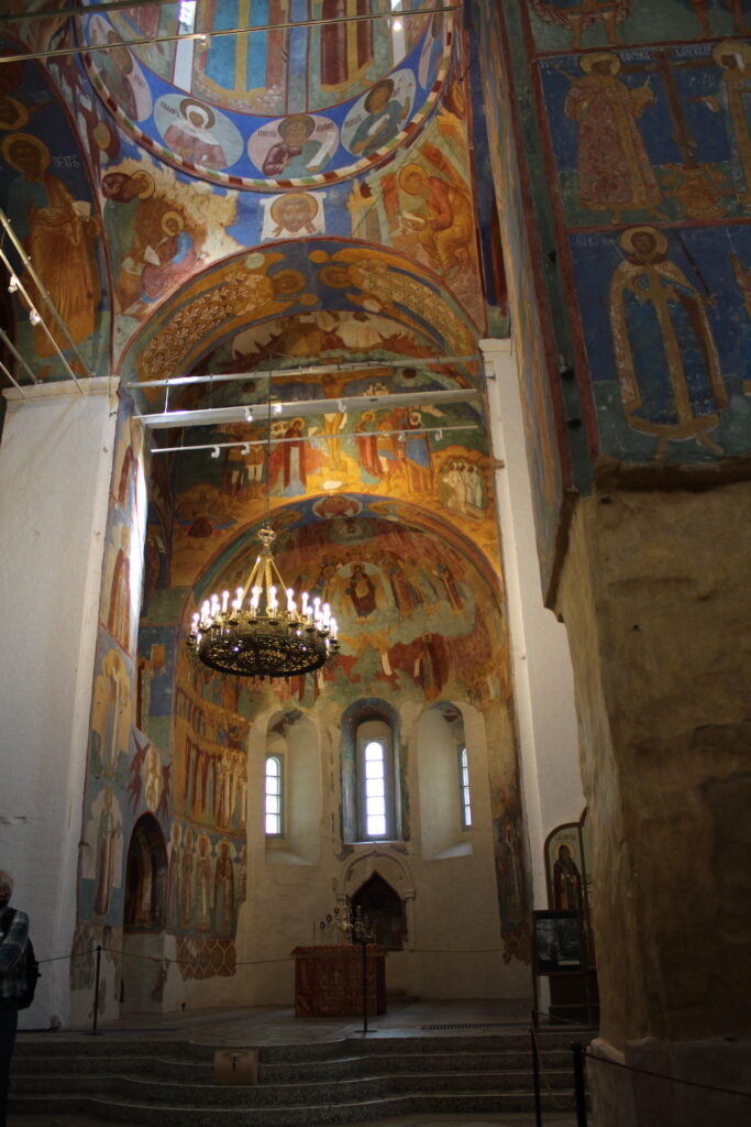 paintings is a church in Suzdal