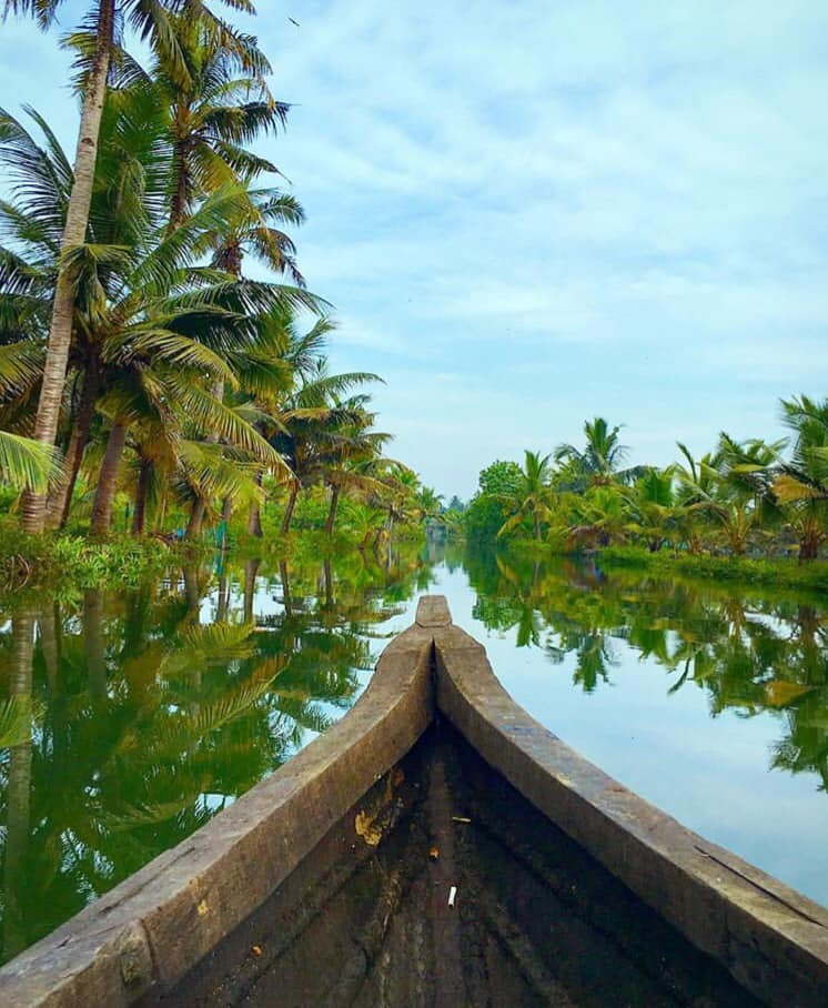 backwaters in Kerela