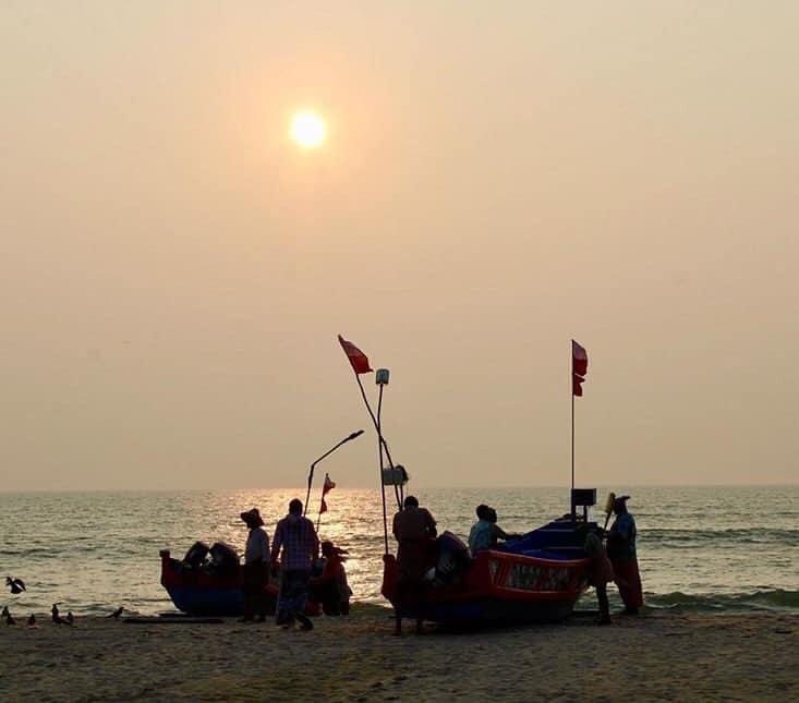 Marari Beach in Kerela