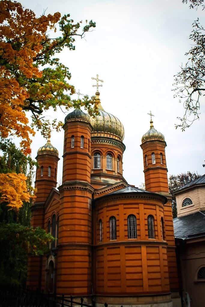 Russian chapel Weimar
