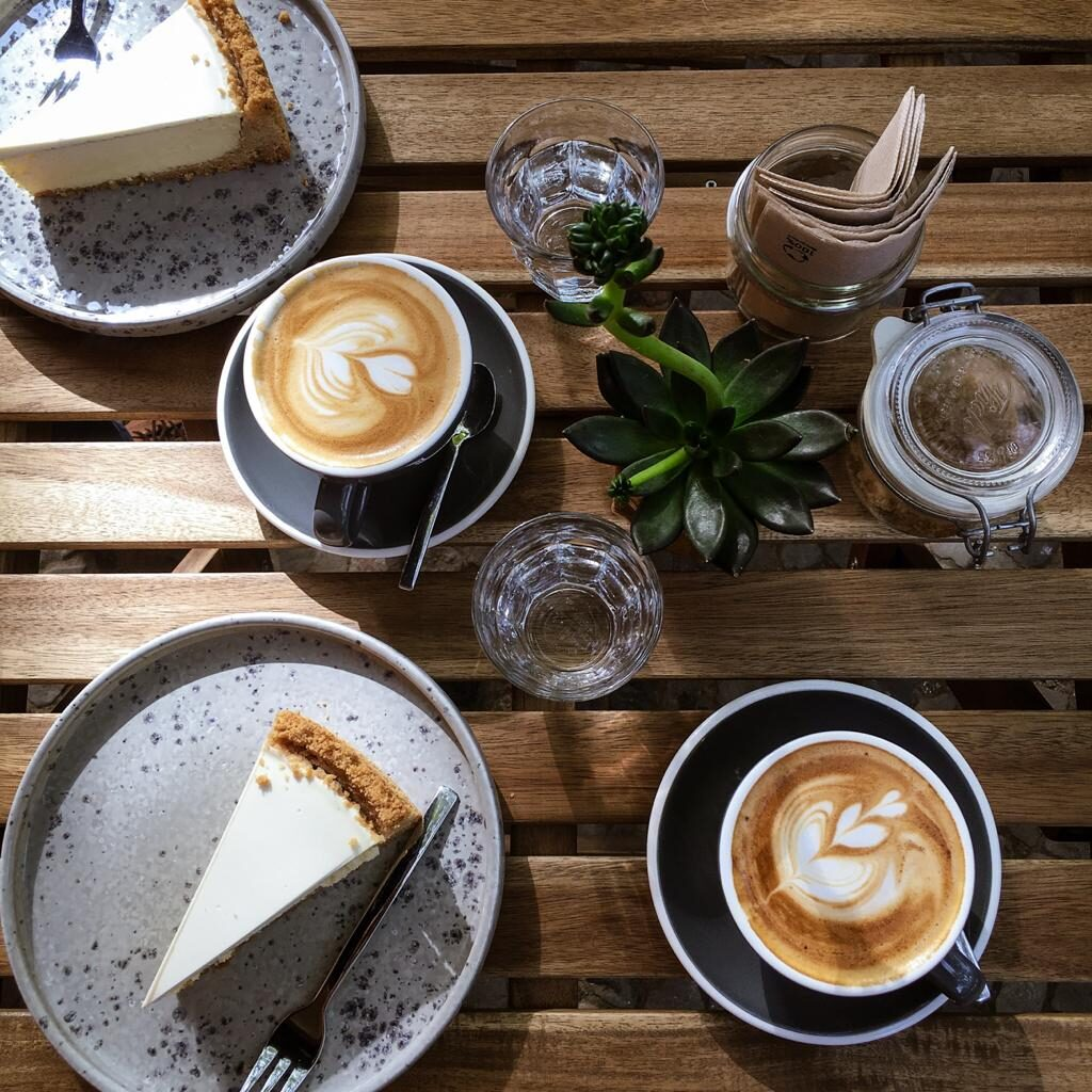 Five Elephants in Berlin serves delicious cheesecake and some of the best coffee in Berlin