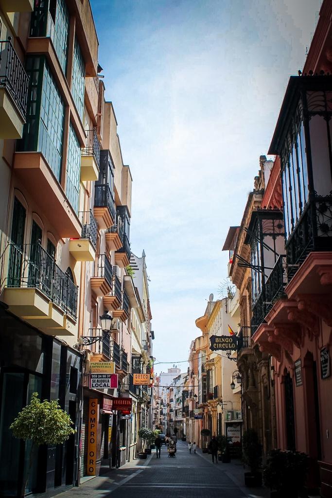 Narrow streets of Huelva