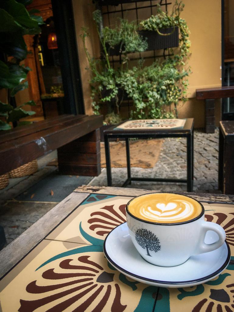 Ben Rahin has some of the best coffee in Berlin