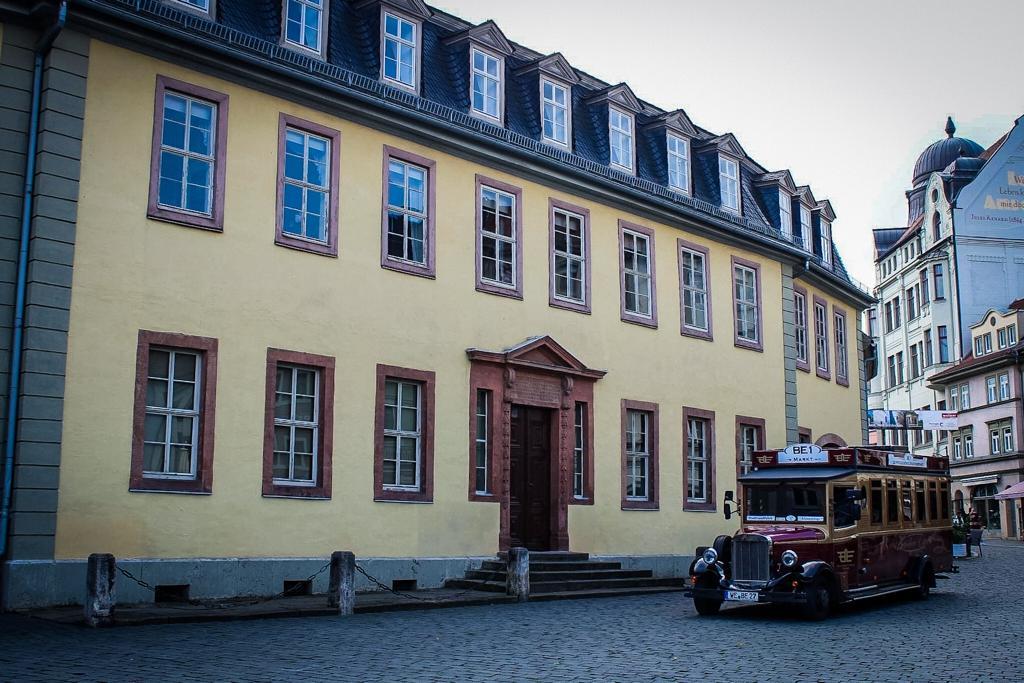 Goethe Haus in Weimar