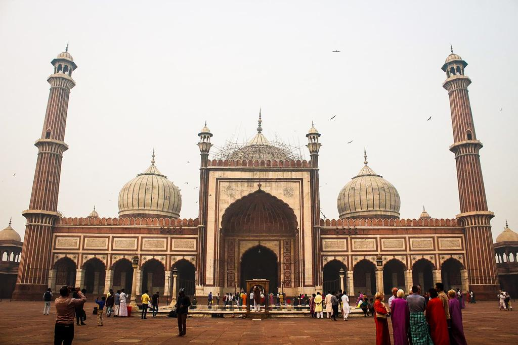 Beautiful mosque in India
