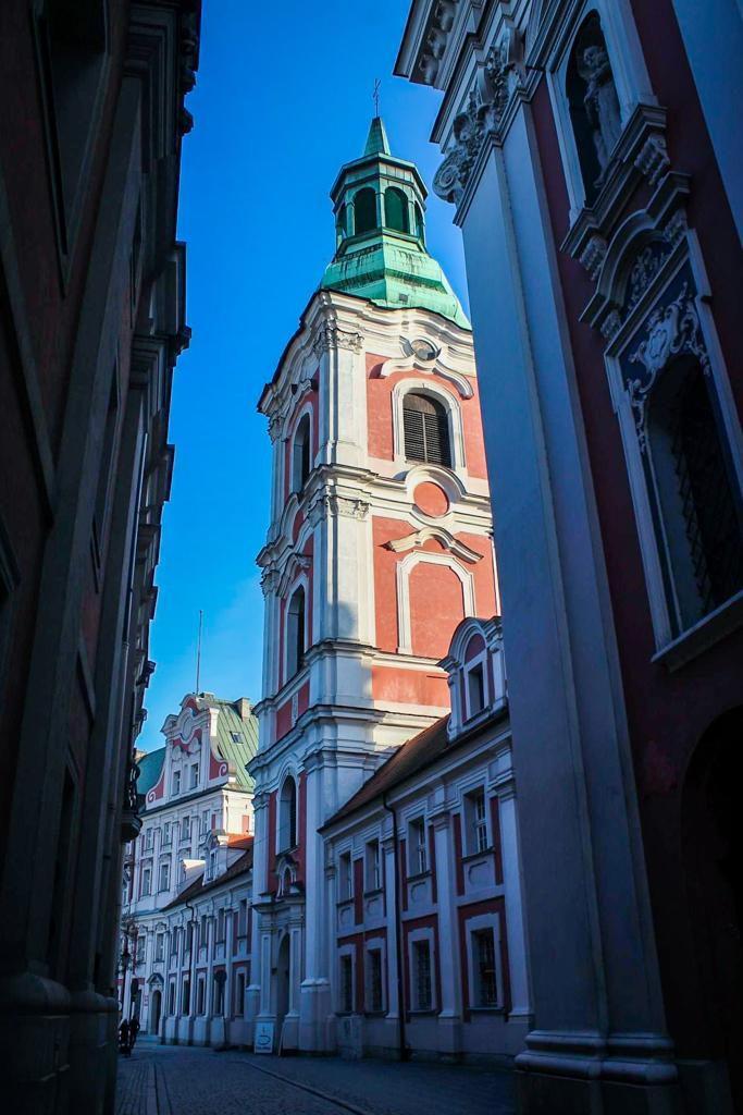 cathedral in Poznan