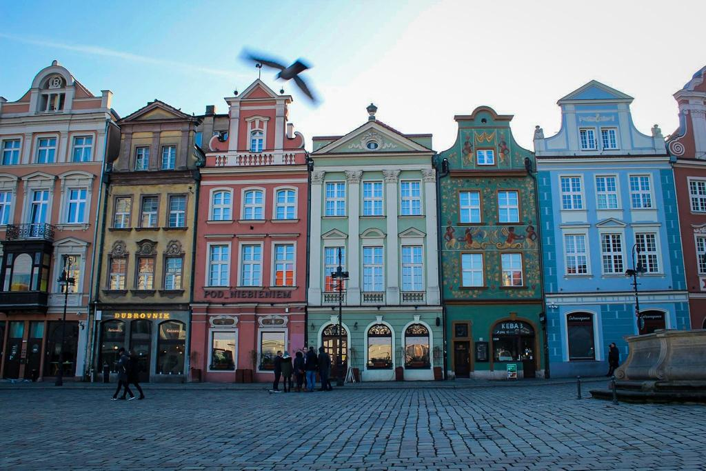 Wandering around the old town is one of the best things to do in Poznan