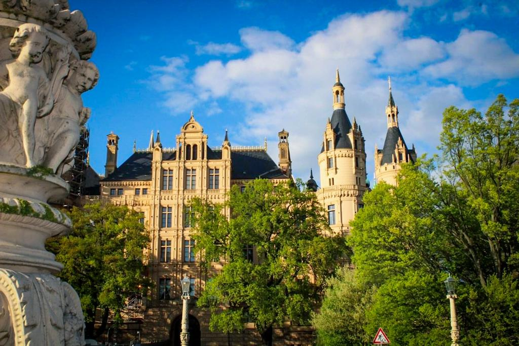 Schwerin castle is simply a materpiece in the North of Grmany