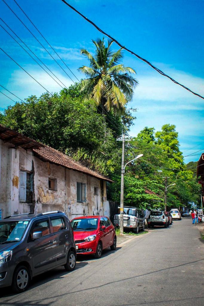 street in Fort Cochi, Kerala