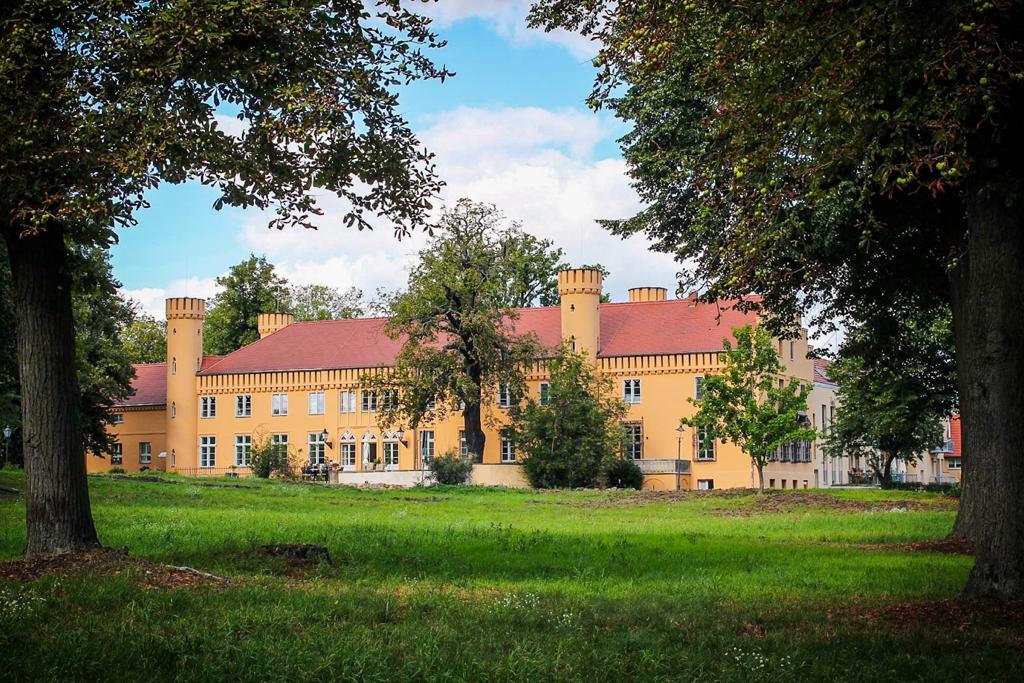 Schloss Petzow was built in Tudor style
