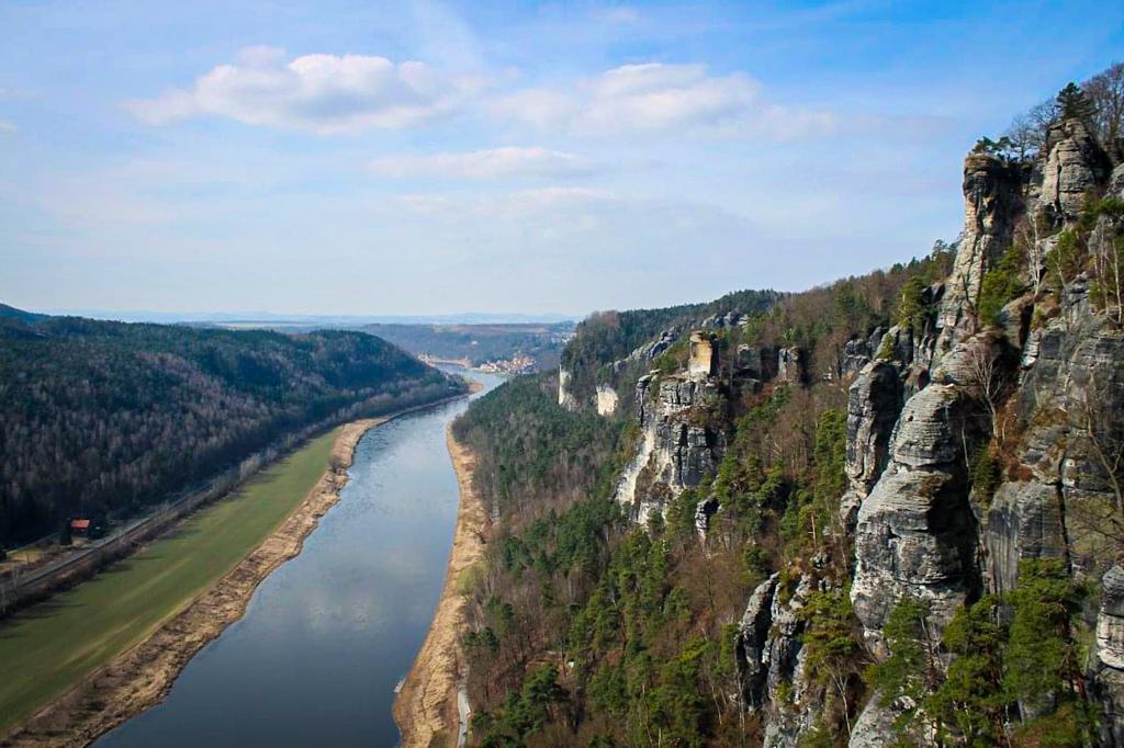 Valley of Saxony Switzerland