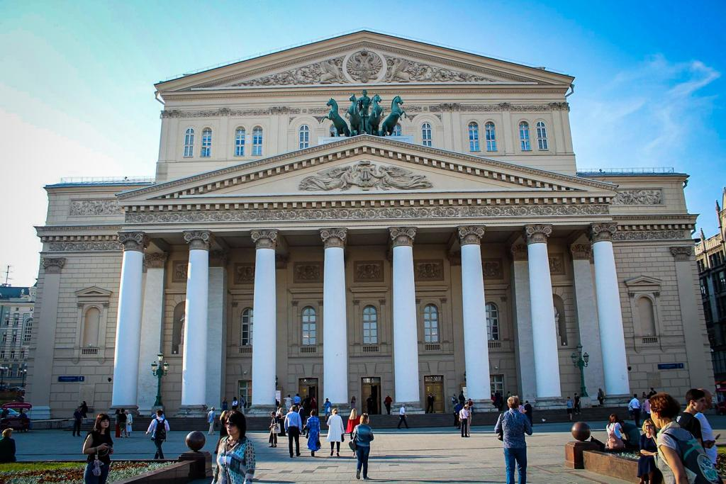 Visit Bolshoi theatre during your Moscow city break
