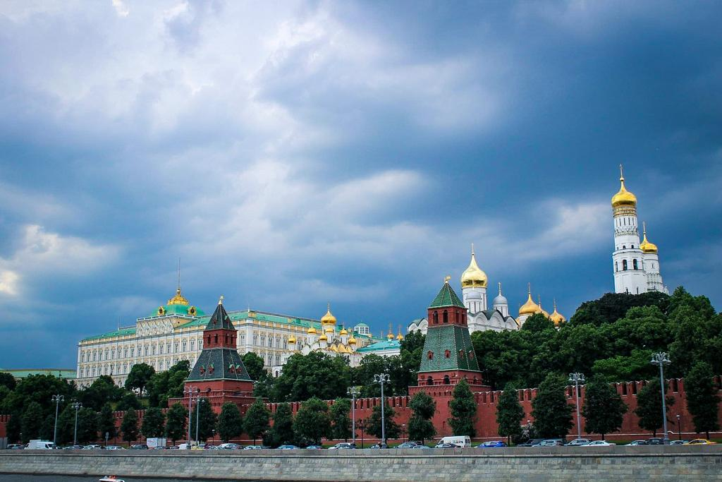 The Kremlin is one of the top attractions in Moscow