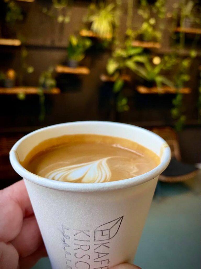 One of the best coffee shops in Berlin; Kaffekirsche