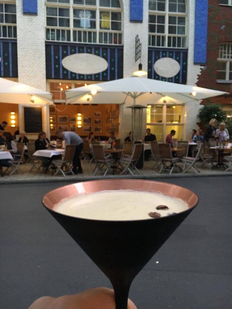 Espresso Martini at Röststätte in Berlin