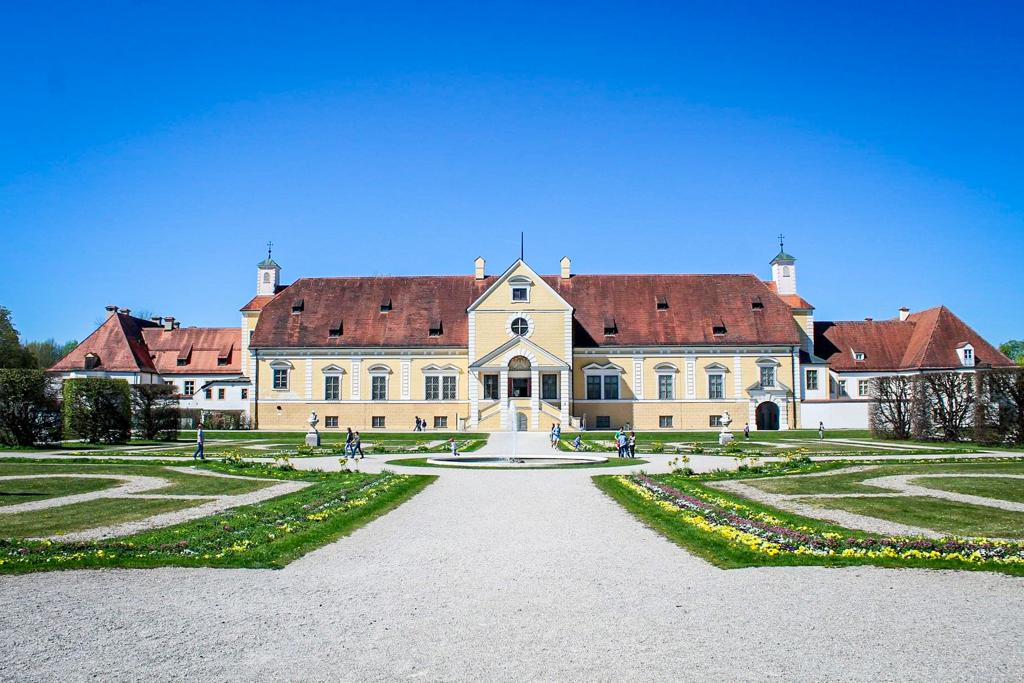 The Old Schleissheim Palace just outside Munich