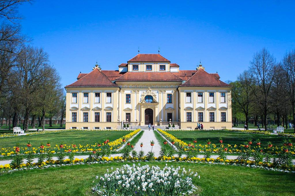 The Lustgarten Hunting Lodge at Schleissheim Palace