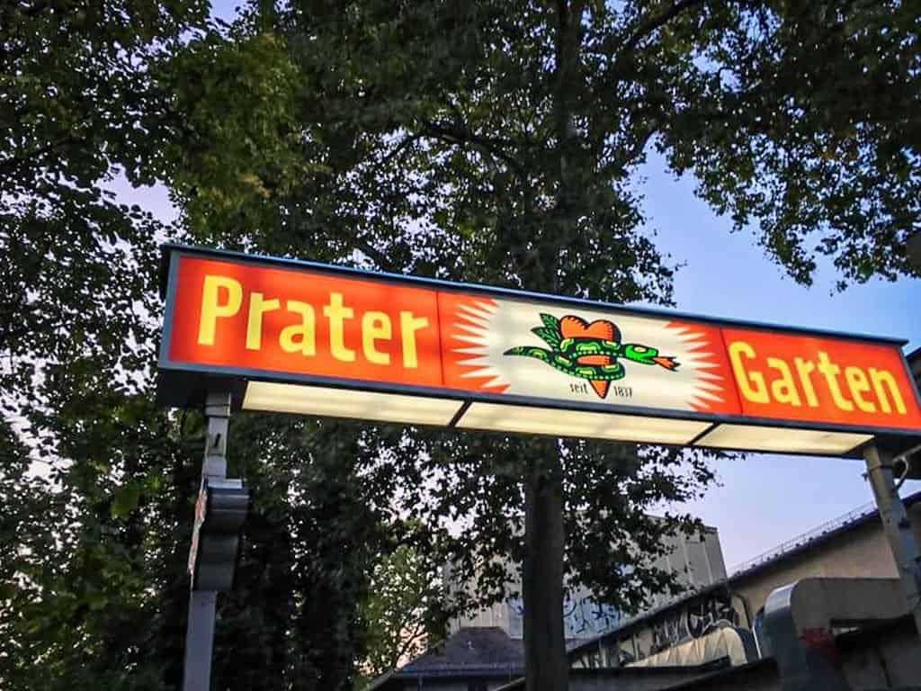 Prater is the oldest beer garden in Berlin