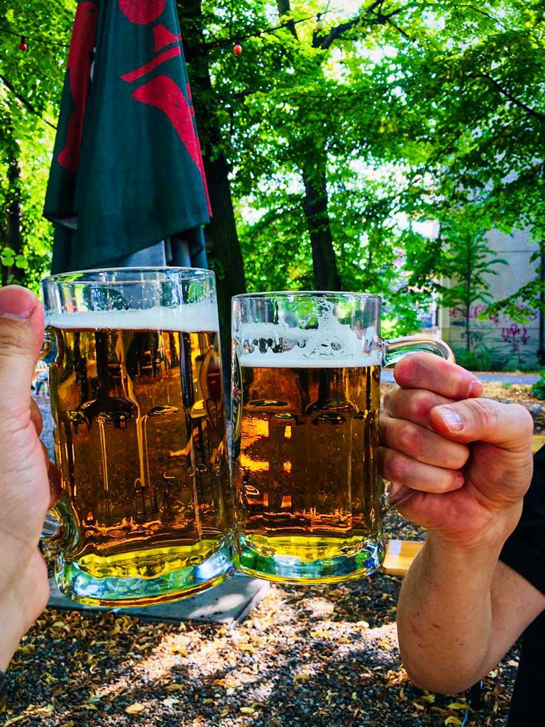 Beer garden in Berlin