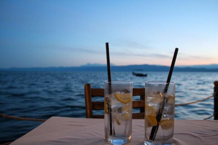 Summer in Europe at Lake Ohrid