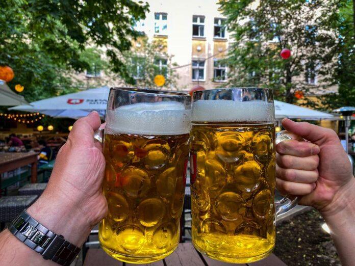 beer gardens in Berlin