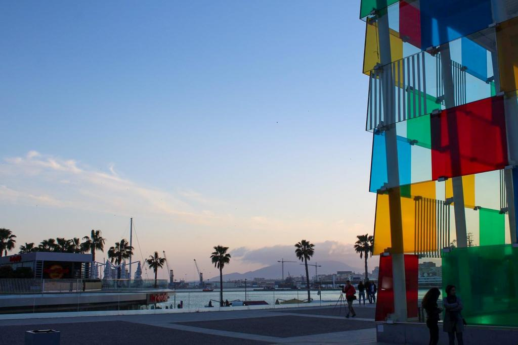 A visit to Centre Pompidou Malaga is one of the best things to do in Malaga